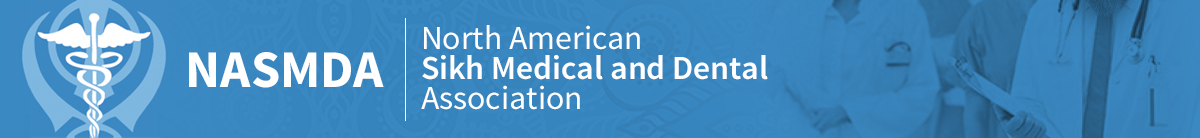 North American Sikh Medical and Dental Association logo